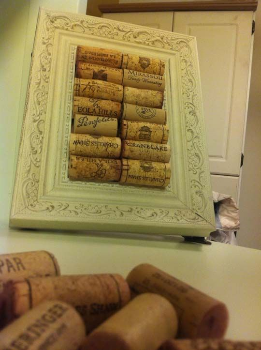 Five Cork Trivets that You Can Make: Baby Chick, Wine Corks Frames, Wine Corks Trivet, 1 6 12Trivet2 Jpg, Old Frames, Corks Ideas, Cork Trivet, Diy Corks Boards, Old Pictures Frames