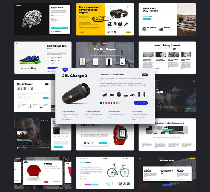 A new amazing UI Kit at UI8. Full preview images attached, check out the product page here.
