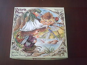I had a round Victoria Plum jigsaw just like this as a child.