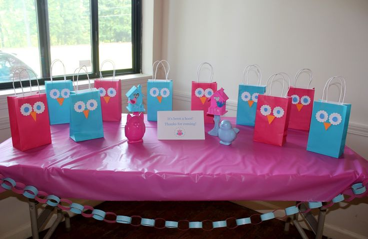 Three Little Birds: Bird and Owl Party Favors