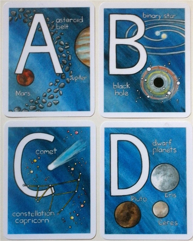 solar system alphabet - photo #4