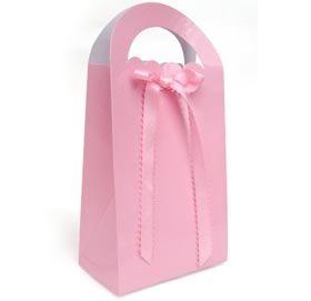 bag with ribbon