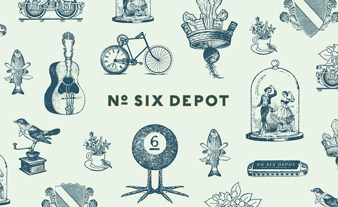 No. Six Depot by Perky Bros.