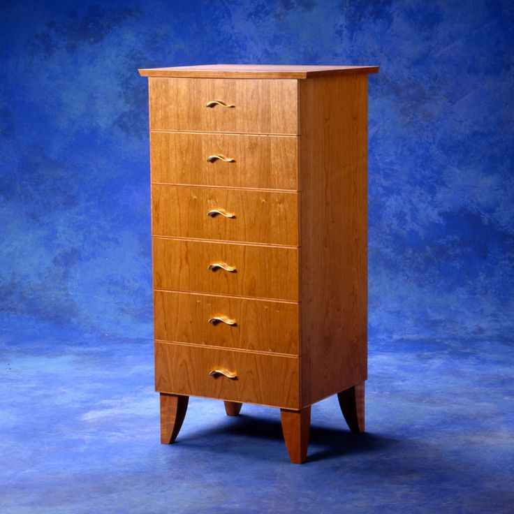 Cherry Chest of Drawers by Anton Gerner - bespoke contemporary furniture melbourne