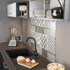 les 25 meilleures id es de la cat gorie fond de hotte verre sur pinterest fond en bois. Black Bedroom Furniture Sets. Home Design Ideas