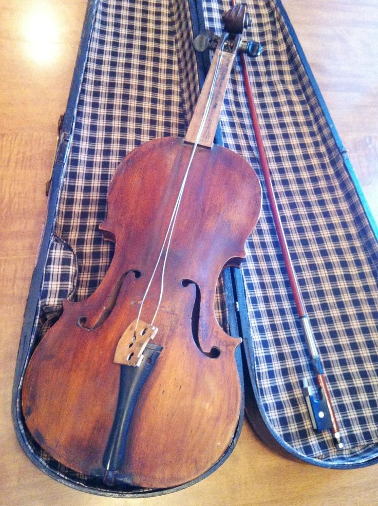 Statement Clutch - The Old Harnett Violin by VIDA VIDA iB1pd