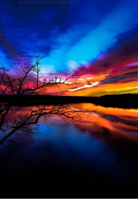 Stunning Sunset #BeautifulNature #NaturePhotography #Nature #Photography #Sunsets #Reflections