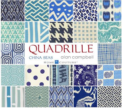 25 Best Ideas About Quadrille Fabrics On Pinterest