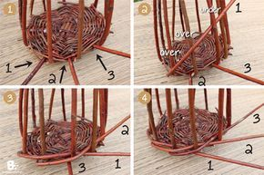 Tutorial: Willow Weaving Birdhouse. This rustic birdhouse craft is very easy to …