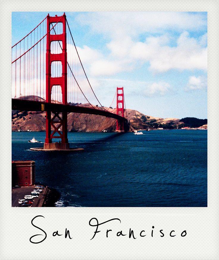 Polaroid San Francisco The Golden Gate Bridge