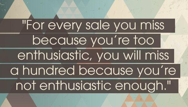 Enthusiasm Matters -- quote by Zig Ziglar