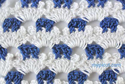MyPicot | Free crochet patterns ❁•Teresa Restegui http://www.pinterest.com/teretegui/•❁