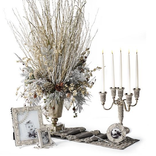 Isabella Adams Swarovski Crystal Candelabra sells for $2,399. !!!!!