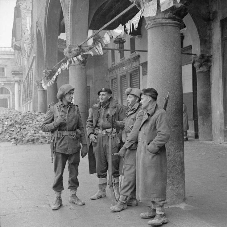 Soldati alleati a Ravenna