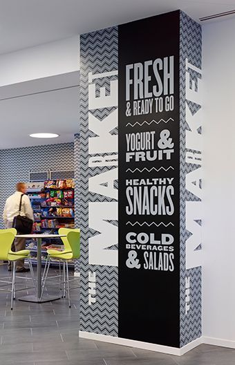 Novo Nordisk North American Headquarters | Environmental Graphics | Branding - by Poulin + Morris: