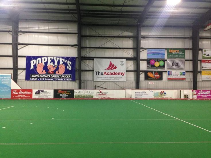We Proudly Support Grande Prairie Soccer Association Team Banners!