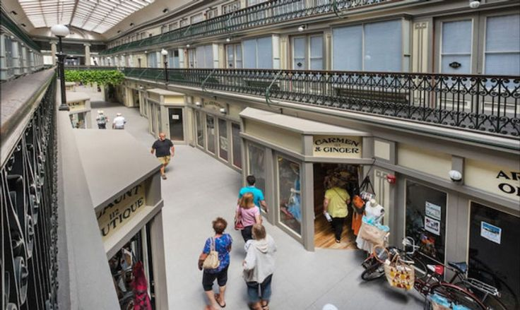It is the dream of every shopaholic, can literally live inside a mall. The Arcade Providence mall is a mall of America's oldest building, and amended by the Northeast Collaborative Architects…