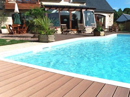 17 best images about piscina de c sped o tarima on - Tarima para piscinas ...