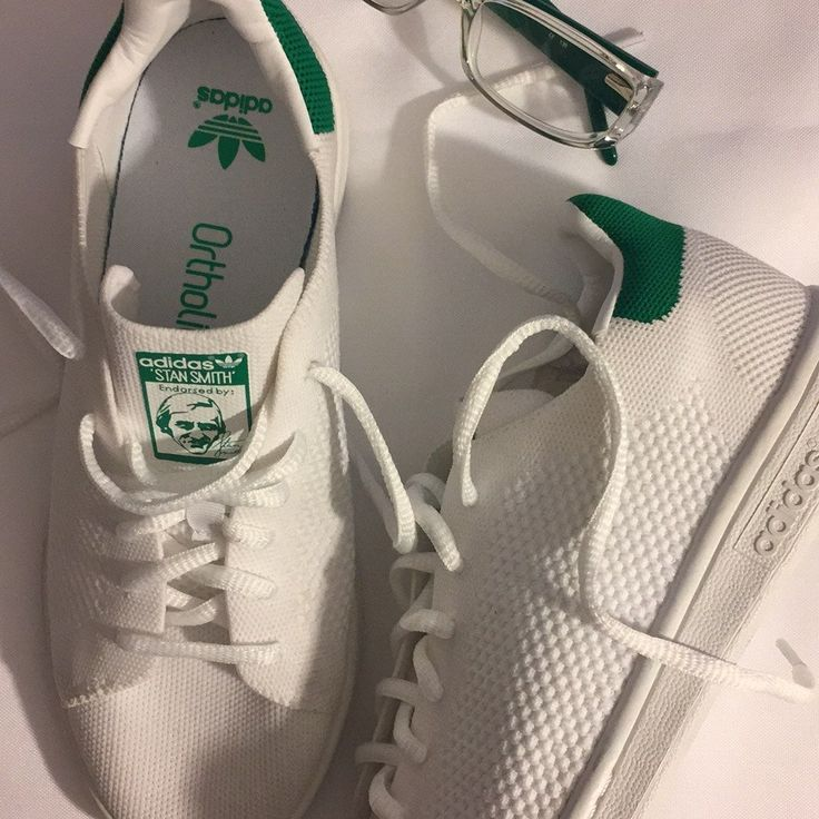 STAN Smith Ortholite Adidas sneakers. Youth size 5. Women's size 7 ...