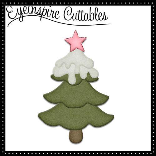 Download Freebie Christmas Tree SVG File | Cricut / SVG / Christmas ...