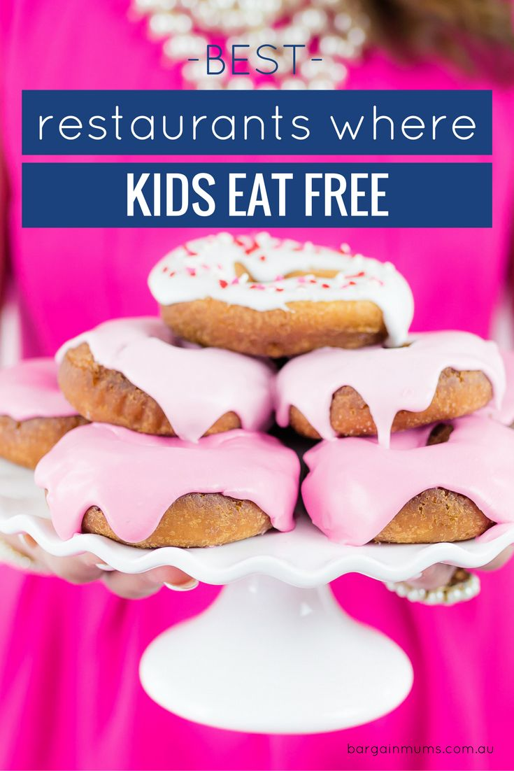Want to eat out with the family but don't want it to break the budget? Check out our list of the best restaurants in Australia where kids eat free.