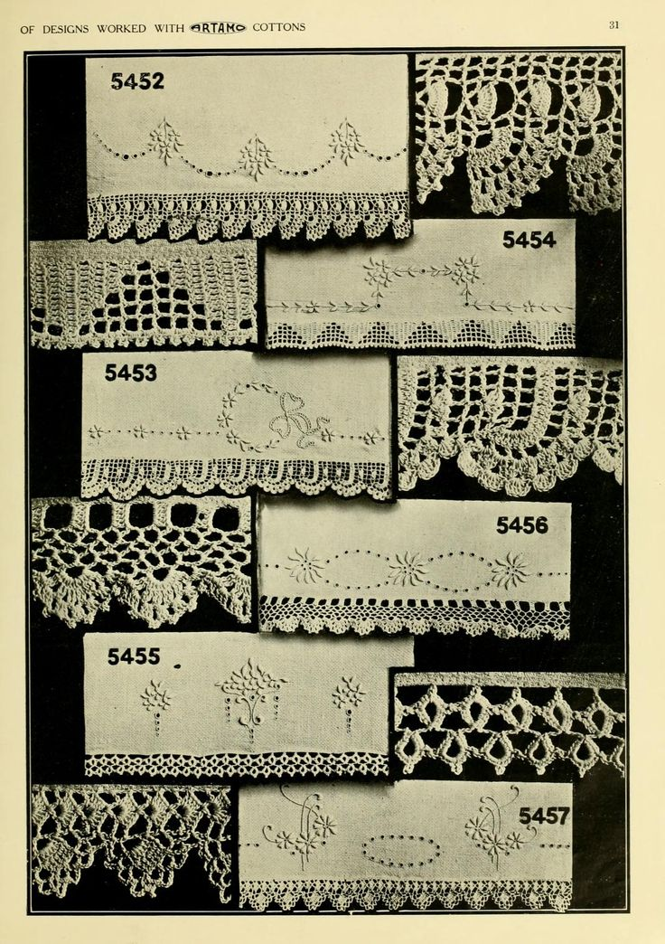 381 best e books images on pinterest knit crochet hand crafts and artamo crochet book historical crochet book howing lace edge for towels this is a lovely site with many historical crochet books available for browsing fandeluxe Choice Image