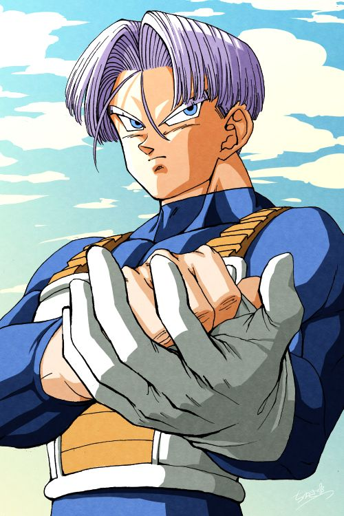 Future Trunks--I hope he makes it into Dragon Ball Super. I enjoyed his dynamic character in Dragon Ball Z. And I hope that by having Trunks return it might set a similar tone to when he was there in the past. I can recall just how intense Trunks could make a scene in Dragon Ball Z as a kid. How everything Trunks did had such an upmost intensity and dire consequence if it wasn't performed. I hope to see Trunks. I really do. #SonGokuKakarot
