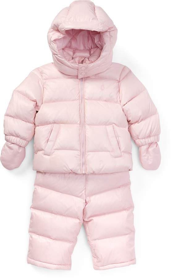 084c2e92b Ralph Lauren Quilted Down Snowsuit. #affiliate | Things to Wear ...