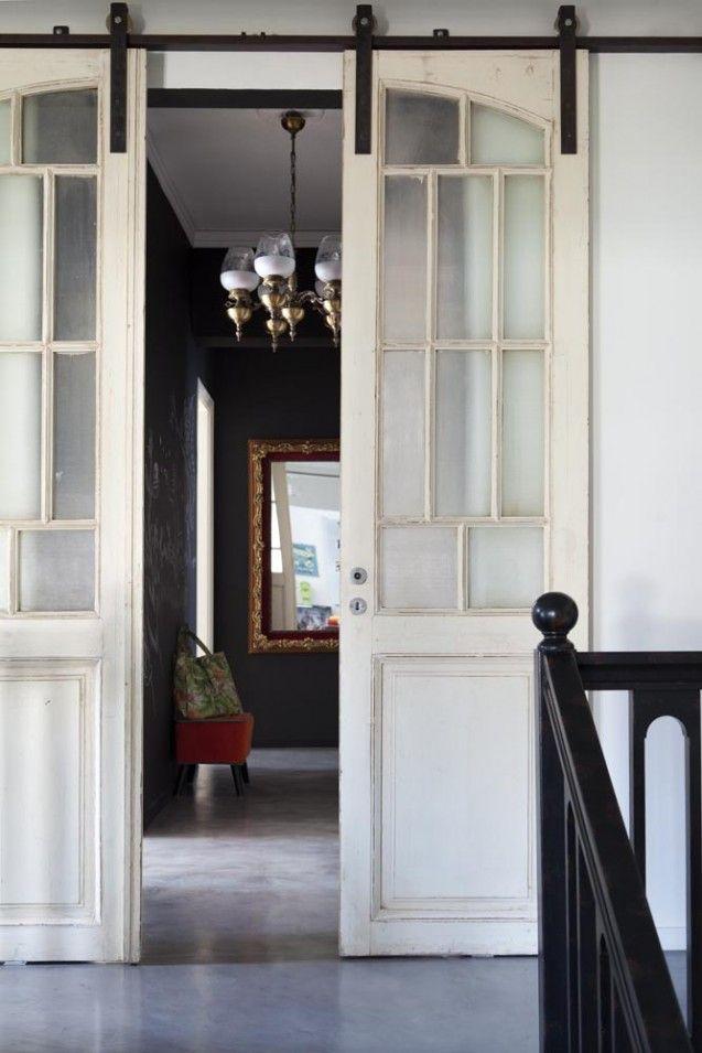 Hallway - Vintage doors - Industrial chic