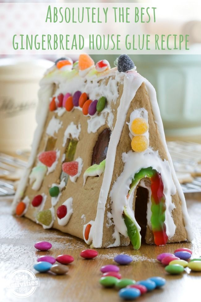 Absolutely the Best Gingerbread House Glue Recipe.  Ever.  I am not even kidding about this.