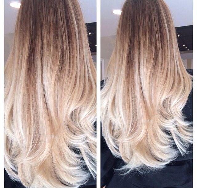 besten 25 blond ombre ideen auf pinterest blonde dà stere