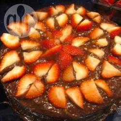 Фото рецепта: Шоколадный торт с авокадо