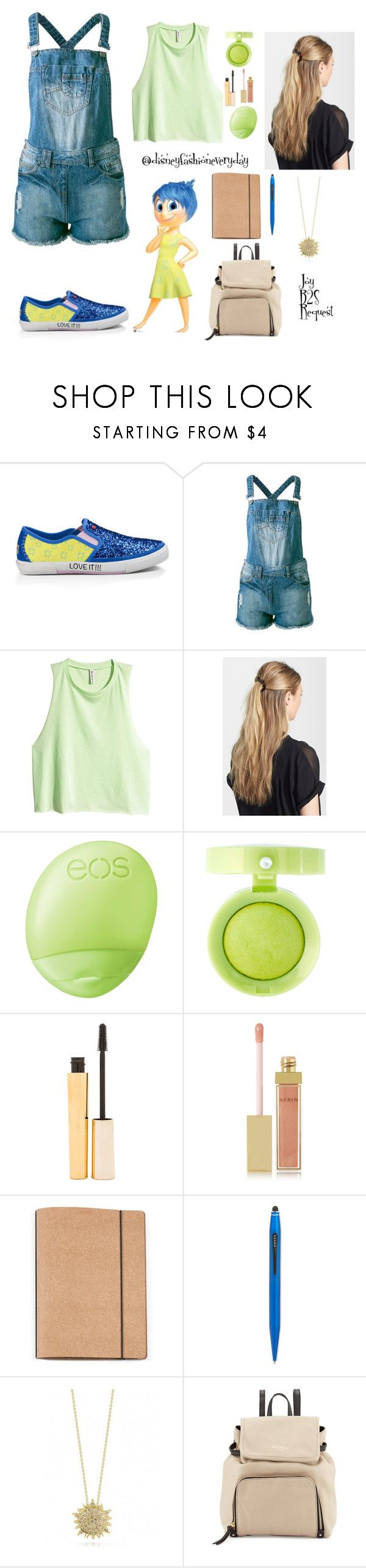 """""""Joy B2S"""" by disneyfashioneveryday ❤ liked on Polyvore featuring Disney, UGG Australia, Sally&Circle, H&M, France Luxe, Eos, Bourjois, Stila, AERIN and Cross"""