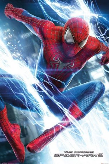 Niesamowity Spiderman 2 Walka - plakat
