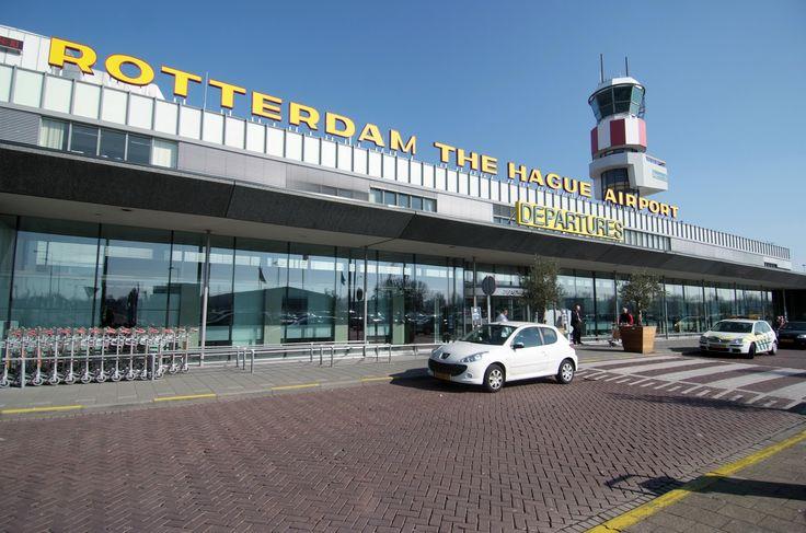 Rotterdam the Hague Airport en van...