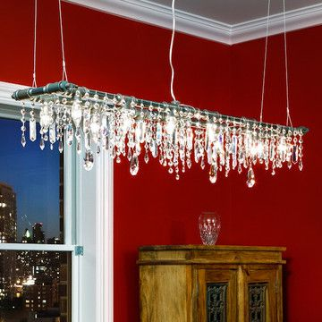 Tribeca 12-Bulb Chandelier now featured on Fab.: Tribeca 12Bulb, 12Bulb Chand, Industrial Chandeliers, Industrial Chic, Tribeca 12 Bulbs, Dining Rooms Chandeliers, 12 Bulbs Chand, Red Rooms, Mchale Design