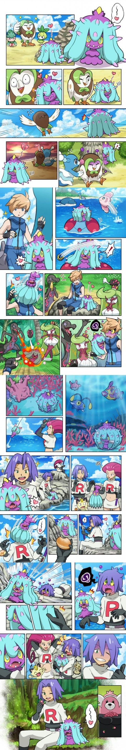 El nuevo pokemon de James