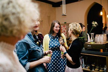 At a Pinterest workshop for @dawanda_germany. Photo from Pinterest Workshop collection by www.ohhedwig.com