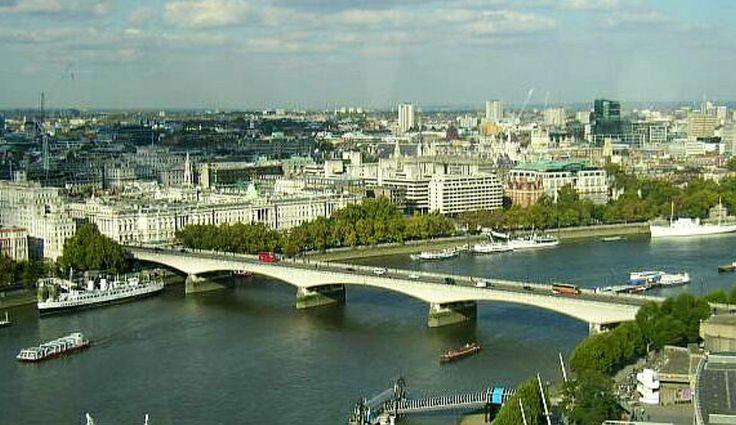 Waterloo Bridge  London United Kingdom