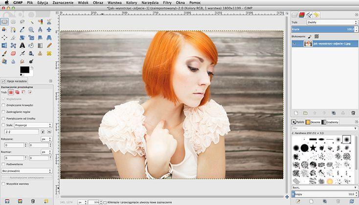 Jak wyostrzyć zdjęcie  4 sposoby fotografia obróbka edycja zdjęć gimp photoscape photoshop
