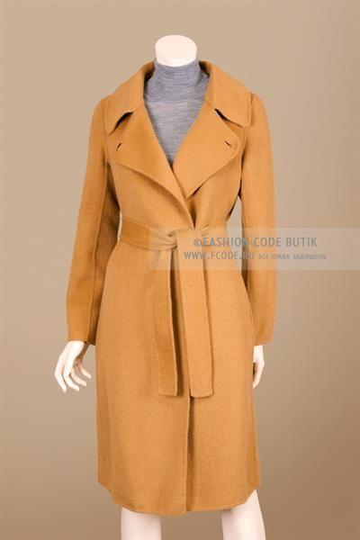 Пальто с английским воротником фото