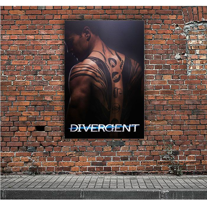 DIVERGENT MOVIE POSTER ARTWORK POSTERS
