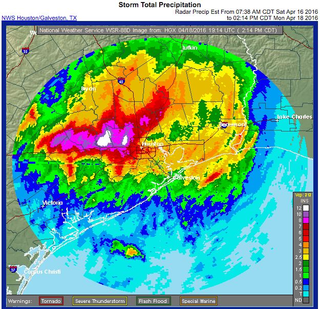 Houston is in the midst of an unbelievable deluge, with already more rainfall in a single day than any hurricane to ever hit the hurricane-prone city.  ...