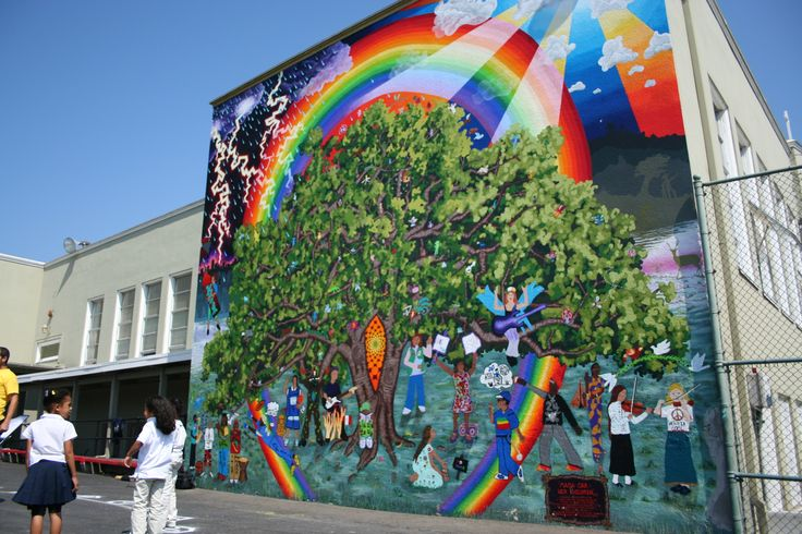 17 best images about teach elementary murals on pinterest for Elementary school mural ideas
