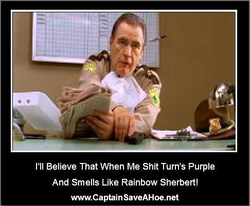 Super Troopers! Admit it... You read that in your head using his voice :P