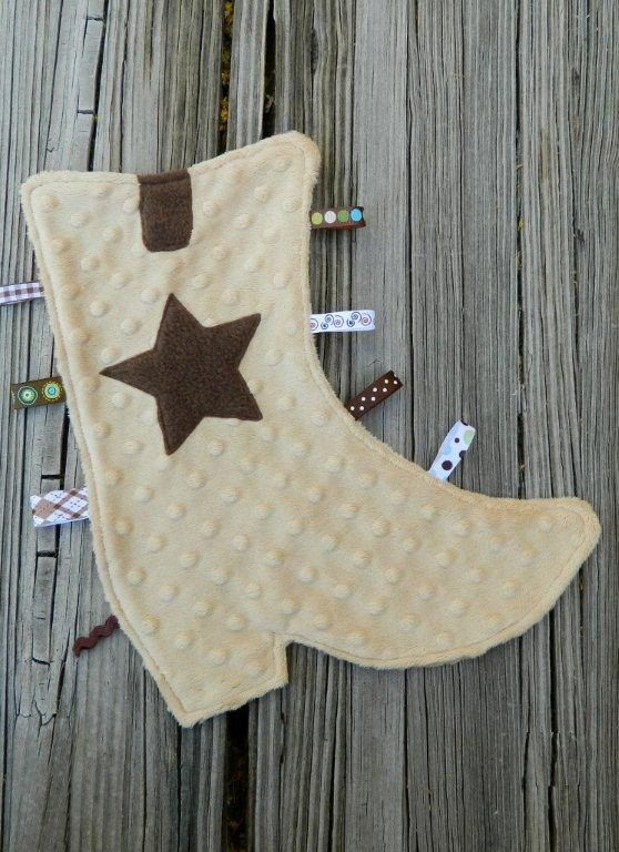 Cozy Cowboy Boot Snugglie by sewingirl on Etsy, $22.00