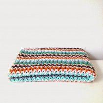 blanket, pattern in dutch
