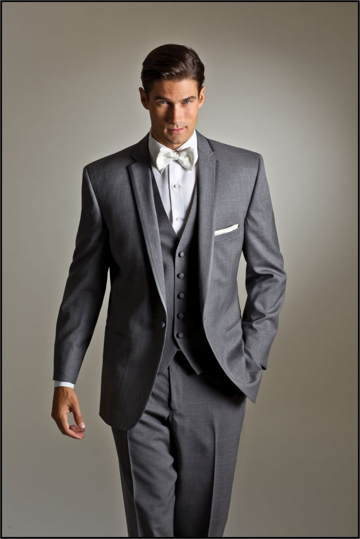 22 best Grey Tuxedos & Suits Inspiration images on Pinterest ...
