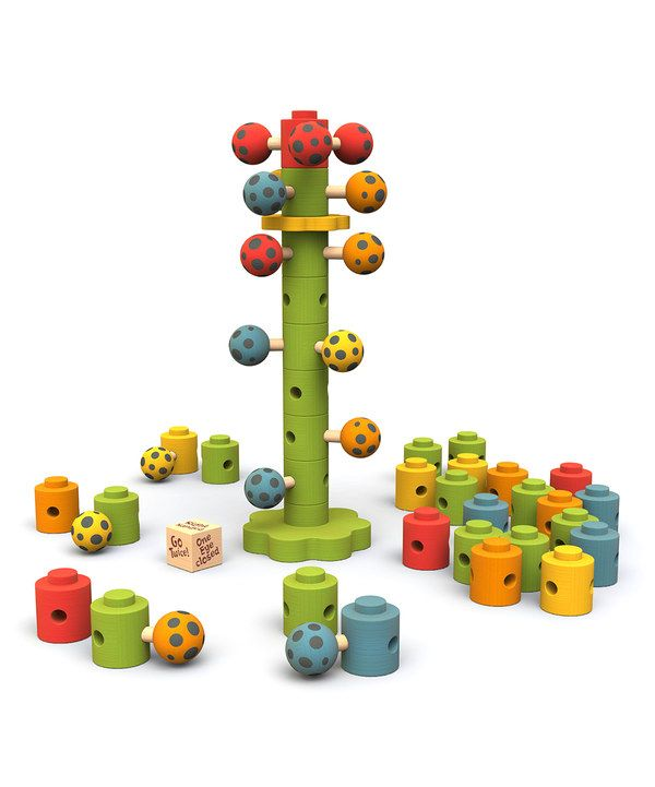 Look at this Ladybug Flower Tower Game on #zulily today!