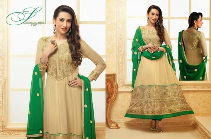Spring Indian Dress 2014| karishma kapoor Indian Anarkali Suit
